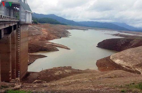 Thủy điện Quảng Trị ngừng phát điện do hạn hán