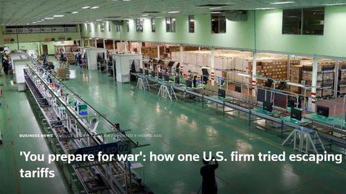 Cách một công ty Mỹ ở Trung Quốc 'lách' thuế quan