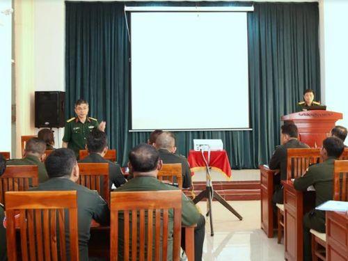 Khai mạc lớp tập huấn Lịch sử quân sự cho cán bộ Camphuchia năm 2019