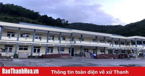 Huyện Quan Hóa nỗ lực bảo đảm cơ sở vật chất trường lớp học