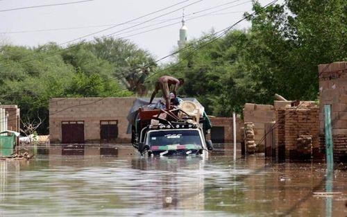 Các nước hỗ trợ người dân bị thiệt hại do mưa, ngập lụt tại Sudan