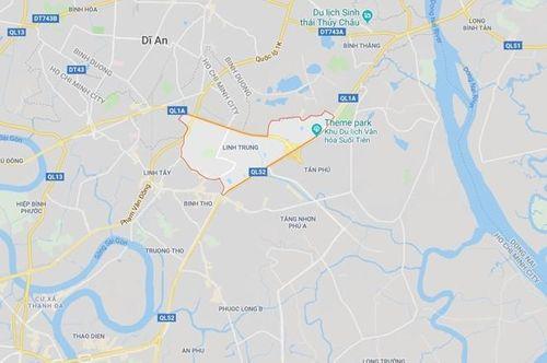 UBND quận Thủ Đức khẳng định một phần khu đất phường Linh Trung thuộc ranh dự án ĐHQG TP.HCM