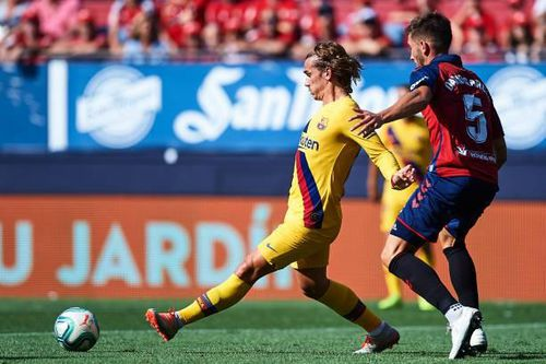 Thiếu vắng Lionel Messi, Barca chia điểm trước Osasuna