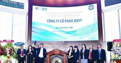 Dòng tiền kinh doanh âm liên tục, Kosy kéo vốn ảo lên sàn?