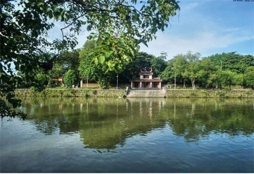Cảnh sắc tuyệt vời của chùa Diệu Đế đất Cố đô