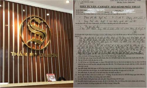 Thẩm mỹ viện Dr Sơn có dấu hiệu trốn thuế?