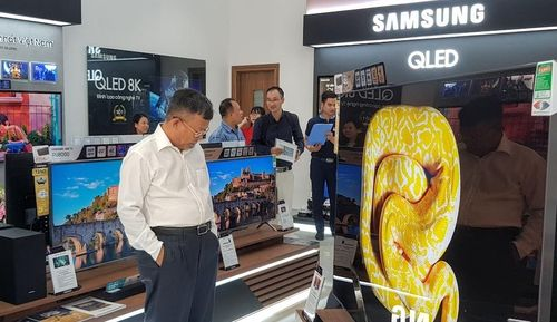 Thêm một trung tâm trải nghiệm các sản phẩm mới của Samsung