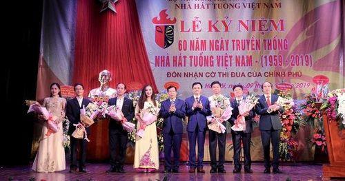 60 năm qua, Nhà hát Tuồng Việt Nam đã trở thành cái nôi nghệ thuật lớn của miền Bắc, là cánh chim đầu đàn của ngành Tuồng cả nước