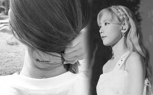 Fan trầm trồ khi Taeyeon (SNSD) lần đầu tiết lộ ý nghĩa thật sự hình xăm sau gáy của mình