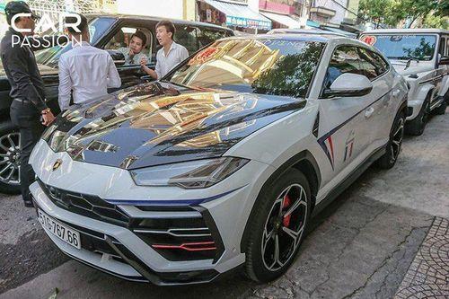 Soi Lamborghini Urus độ Mansory độc nhất của Minh Nhựa