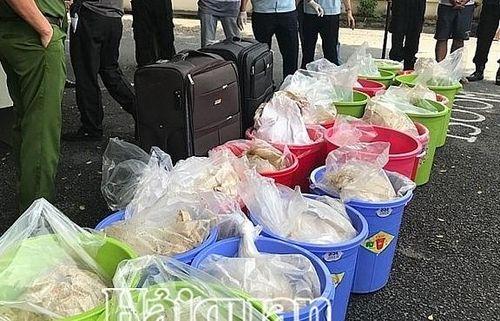 Tổng cục trưởng tặng Giấy khen vụ bắt hơn 507 kg Ketamine