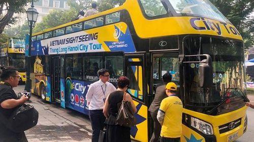 Công bố lộ trình mới tuyến City Tour 2 tầng Thăng Long - Hà Nội