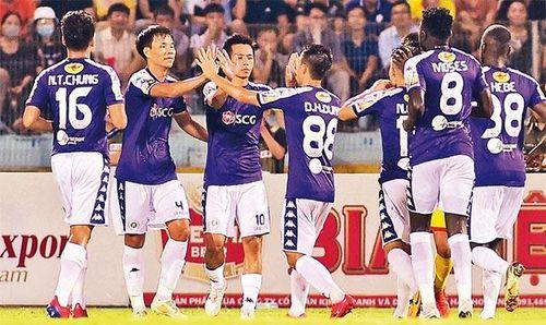 Hà Nội FC thắng đậm trên sân nhà