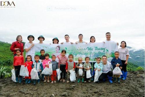 Tập Đoàn Dova chính thức khởi công xây dựng trường học tình thương Bó Khiếu