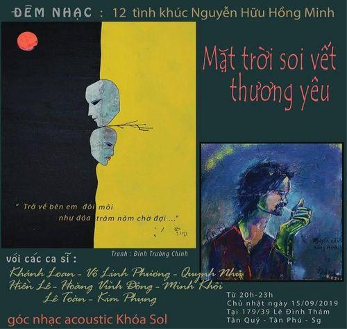 Đêm nhạc đánh dấu con đường nhạc sĩ của Nguyễn Hữu Hồng Minh