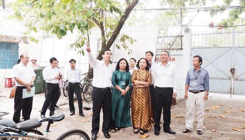 Xúc tiến xây dựng cơ sở 2 Trường THPT Hòa Vang năm 2021