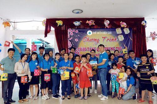 Mùa Trung thu ấm áp cùng trẻ em khuyết tật tại Gò Vấp