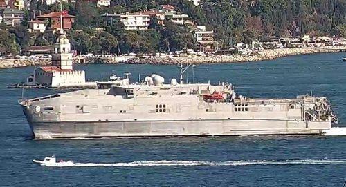 Lộ diện tàu hải quân Mỹ 3 lần có mặt ở Biển Đen, đang bị Nga 'bám đuôi'