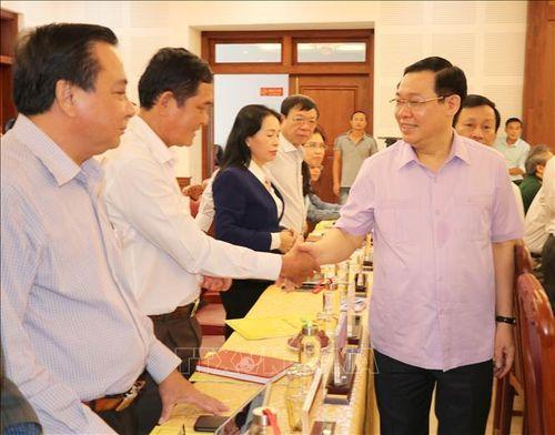 Phó Thủ tướng Chính phủ Vương Đình Huệ làm việc tại tỉnh Gia Lai