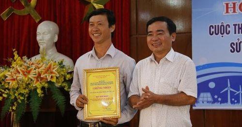 Quảng Nam: Trao thưởng cuộc thi về tiết kiệm điện