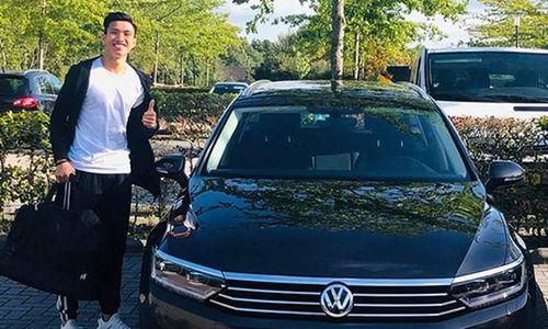'Soi' xe Volkswagen Passat tiền tỷ ở Hà Lan của Văn Hậu