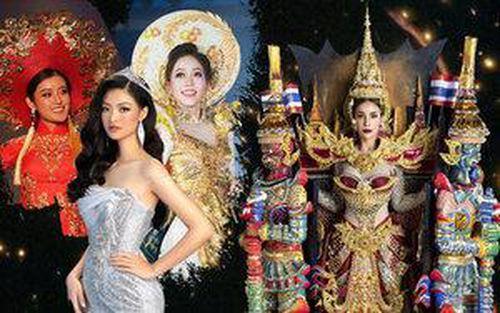 Cận cảnh National Costume của Miss Grand Thailand 2019: Cơ hội nào cho Kiều Loan với áo dài?