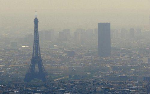 Paris triển khai bản đồ trực tuyến hiển thị chính xác mức độ ô nhiễm không khí