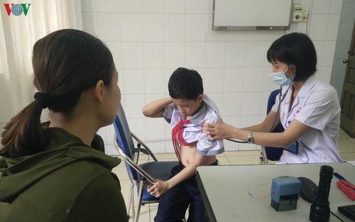 Quảng Ninh ghi nhận số trẻ mắc tay chân miệng gia tăng