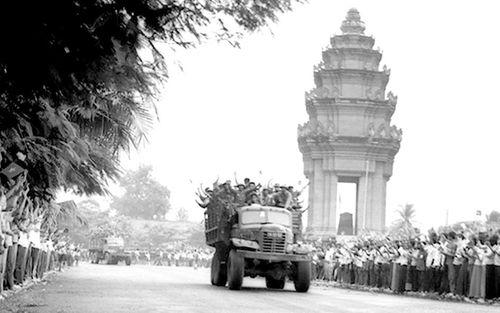 Ngày về của 'Đoàn quân nhà Phật'