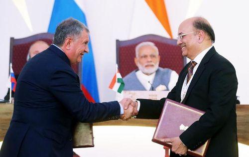 Rosneft mời gọi đầu tư của Ấn độ