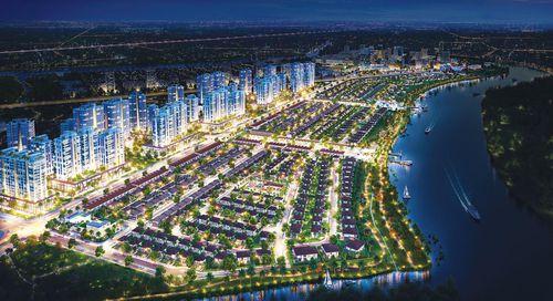 Nam Long phát triển đột phá với đại đô thị Waterpoint