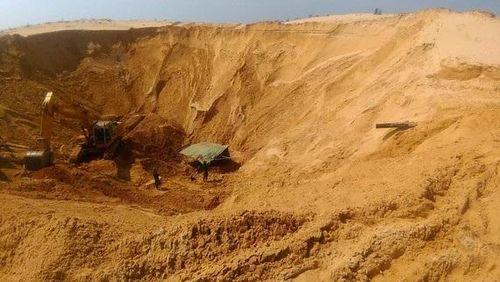 Bình Thuận: Sập hầm khai thác quặng titan, 1 công nhân tử vong