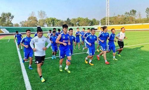 Hà Nội FC sẵn sàng cho trận đấu lịch sử