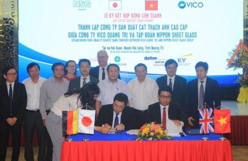 Quảng Trị: Sẽ có nhà máy cát thạch anh cao cấp VICO-NSG
