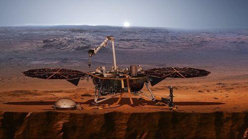 BÍ ẨN: Tàu đổ bộ của NASA vừa thu được những âm thanh lạ gì trên sao hỏa?