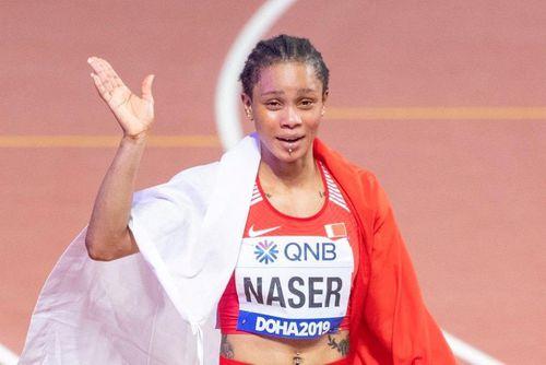 Nữ VĐV nhập tịch Bahrain lập kỷ lục chạy 400 m sau 34 năm