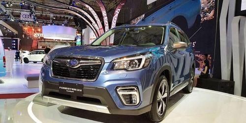 Đai ốc không chặt, Subaru Forester triệu hồi tại Việt Nam