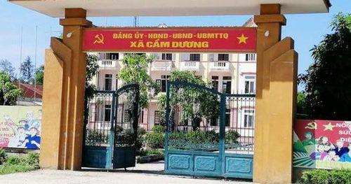 Kỷ luật 4 cán bộ xã ở Hà Tĩnh sử dụng bằng tốt nghiệp THPT giả để 'tiến thân'