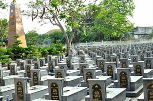 Thông tin về mộ liệt sĩ