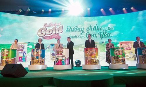 Traphaco chính thức phân phối dòng sữa New Zealand Gold tại Việt Nam