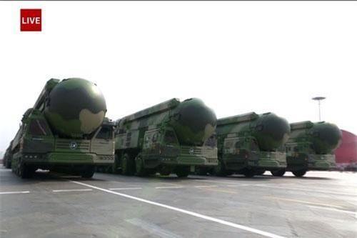 Cận cảnh loạt vũ khí Trung Quốc lần đầu được công bố