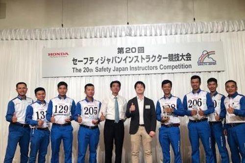 Honda Việt Nam đoạt giải nhất hội thi lái xe an toàn quốc tế 2019