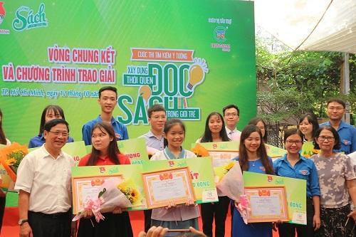 'Tủ sách kết nối tại các chung cư' giành giải nhất về ý tưởng đọc sách
