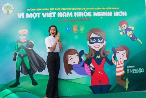 Hoa hậu H'hen Niê làm đại sứ sự kiện 'Ngày hội rửa tay 2019'