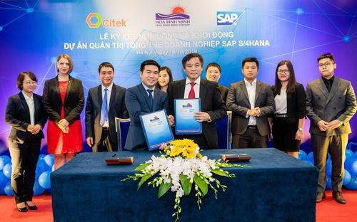 Tập đoàn Hòa Bình Minh đầu tư hơn 1 triệu USD triển khai giải pháp quản trị doanh nghiệp SAP S/4HANA