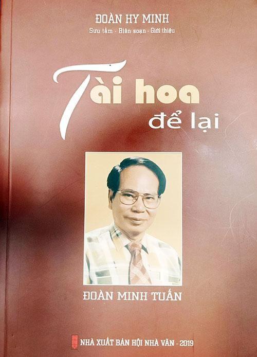 'Hành trình chữ nghĩa' của Đoàn Minh Tuấn