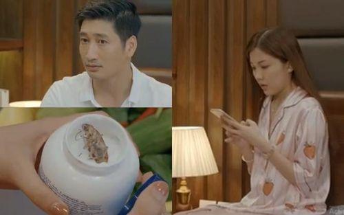 Hoa Hồng Trên Ngực Trái tập 22: Khán giả hả hê vì Trà 'tiểu tam' bị con chồng 'bóc phốt', lại còn thả cả gián vào mỹ phẩm dằn mặt
