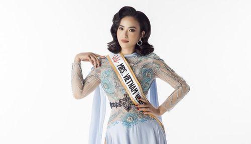 Lê Vũ Hoàng Hạt tranh tài, khoe sắc tại Hoa hậu Phụ nữ Toàn thế giới 2019