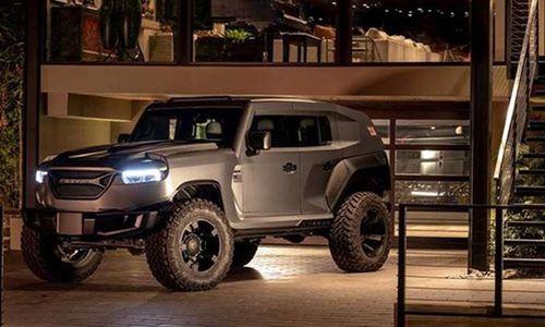 Rezvani Tank 2020 - SUV chống đạn cực khủng, đắt như siêu xe