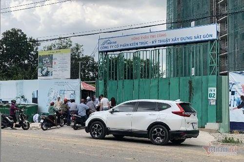 Chủ đầu tư Green Town Bình Tân phớt lờ lệnh phong tỏa, gấp rút xây dựng